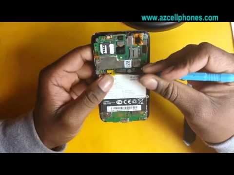 Alcatel One Touch Fierce Repair - Battery Removal
