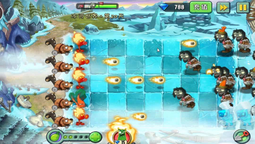 plants vs zombies 2 chinese ice age day 20  youtube