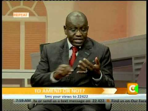 Cheche Interview with Dr.Ekuru Aukot -Committee of Experts  Prt 1