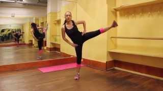 Come avere gambe perfette con calci laterali e piegamenti sulle gambe per cosce e glutei scolpiti