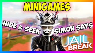 🔴ROBLOX JAILBREAK SIMON SAYS AND HIDE AND SEEK!| ROBUX GIVEAWAYS!!| Roblox Live Stream 🔴