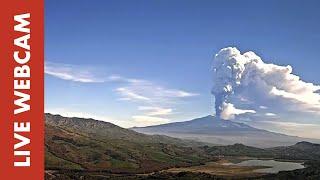 Preview of stream Webcam Live Etna - Panorama da Agira (EN)