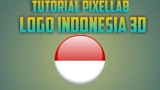 Tutorial Membuat Logo 3D Bendera Indonesia di Pixellab Android