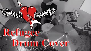 """Tom Petty And The Heartbreakers """"Refugee"""" Drum Cover (HQ Audio Drumless Track)"""