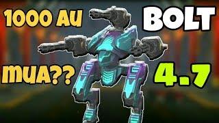 Chỉ 1000 Au Có Nên Mua Bolt Ở 2019? - War Robots Bolt Gameplay & Tutorial WR