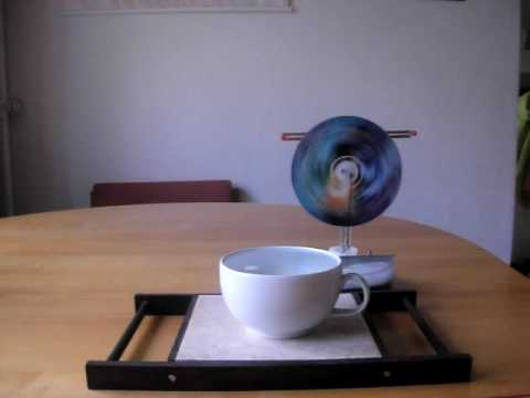 LTD Stirling generator running on a cup of tea