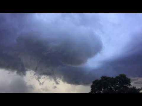 Funnel Cloud Spotted Over Tornado-Warned Rockledge, Florida