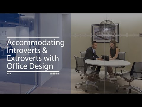 Accommodating Introverts and Extroverts with Office Design