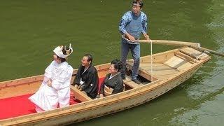 潮来あやめ祭り Bride's iris festival 嫁入り船 潮来観光 あやめ 園 潮来市