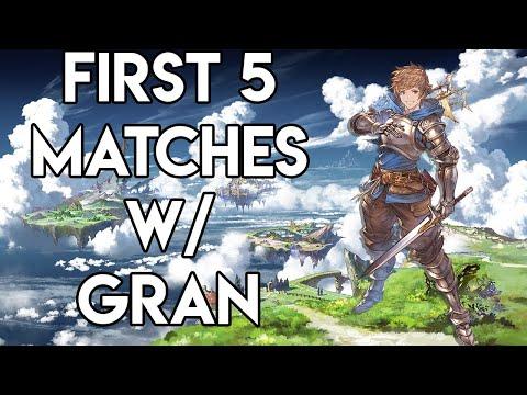 First 5 Games EVER w/ Gran! Granblue Fantasy: Versus Beta  