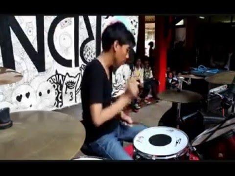 Drum Cam - Perjalanan Terindah - Hoolahoop (Live Cover)