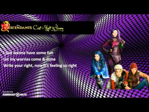 descendants-cast---night-is-young-(lyrics-video)