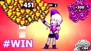 WOW EMZ NONSTOP To 500 Trophies    Brawl Stars Funny Moments
