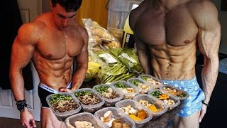FULL DAY OF EATING with 19 Year Old Bodybuilder Brandon Harding