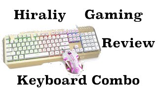 Hiraliy X11 Keyboard + Mouse Combo Review