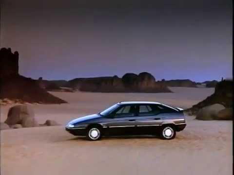 Citroën XM Werbung 1989