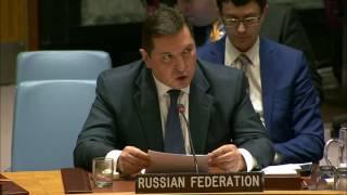 Выступление заместителя Постпреда РФ при ООН В.К.Сафронкова на заседании СБ ООН по Ближнему Востоку