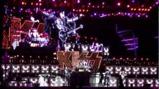 Kiss - Wall of Sound and Hotter Than Hell / Live In Sao Paulo (Arena Anhembi), Brazil 2012/11/17