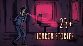 2 HOURS OF HORROR ANIMATED STORIES COMPILATION