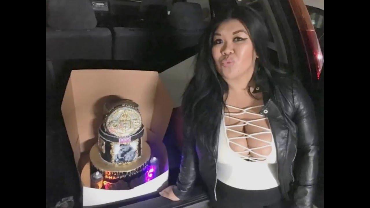 050116 Chris Brown Birthday Cake Parq Night Club Youtube