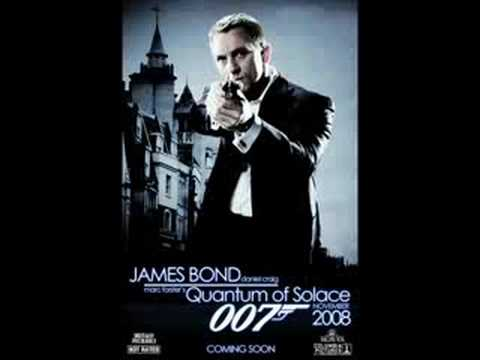 Alicia Keys ft. Jack White - Another Way To Die - New James Bond Song 2008