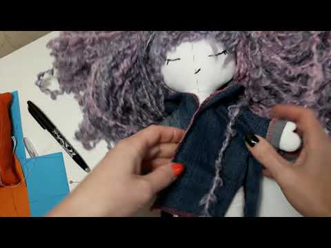 Одежда. Пошив джинсовой куртки для куклы СПЛЮШКИ