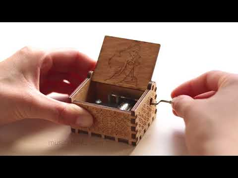 Little Mermaid Chest Music Box | Hand Crafted Music Chest