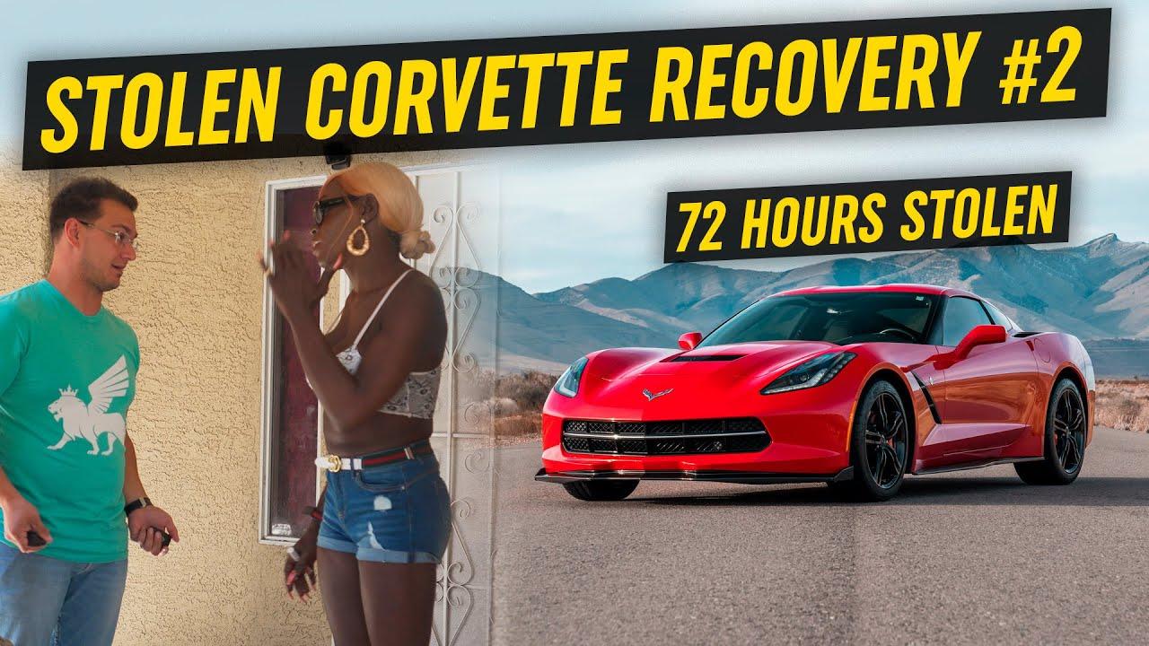 Recovering STOLEN Corvette *72 Hours Stolen*