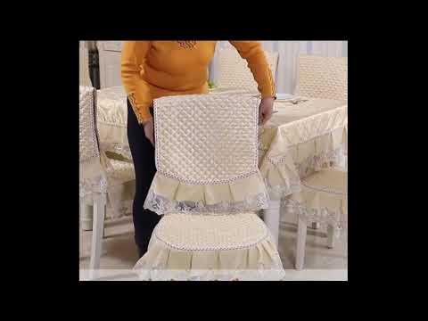 Скатерть и чехлы на стул № 7-8