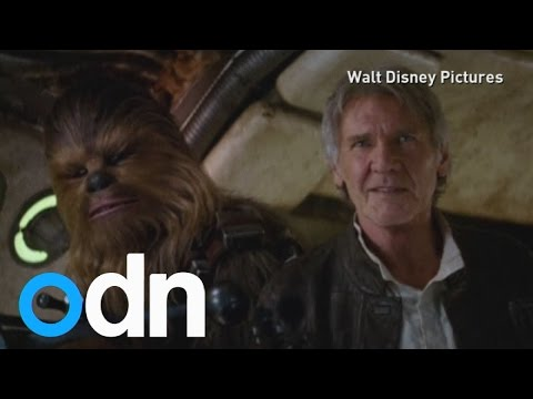 Star Wars fans excited over new trailer at convention in LA