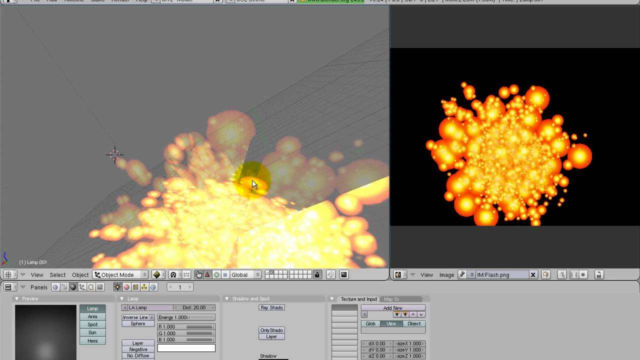 Blender Game Engine BGE 3D Tutorial Special Effects