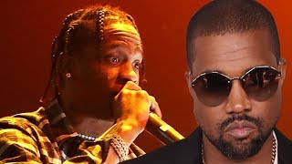 Kanye West's SLAMS Travis Scott In Twitter Rant After Drake DISSES Him On 'Sicko Mode'!