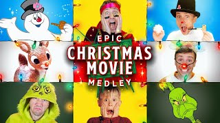 Epic Christmas Movie Medley - Peter Hollens feat Brian Hull and Geoff Castellucci