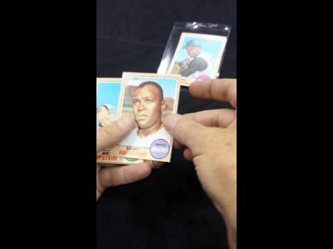 1968 Topps Baseball Cello Pack Opening! Live From The National!