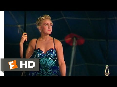 The Greatest Show on Earth (4/9) Movie CLIP - Holly vs. The Great Sebastian (1952) HD