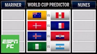 Predicting Argentina vs. Nigeria, France vs. Denmark, other big 2018 World Cup matchups | ESPN FC