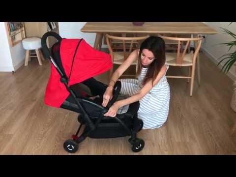 Probamos la silla de paseo Boarding de Foppapedretti - YouTube 2818fe89f01