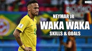 Download lagu Neymar Jr ► Shakira - Waka Waka - Brazil Mix Skills & Goals (HD)