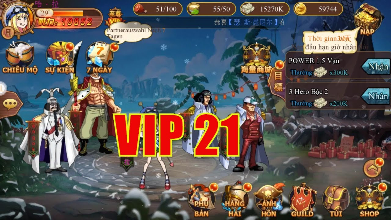 New Game – One Piece – VIP 21 | Kim Cuong