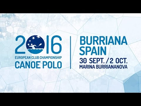 EUROPEAN CANOE POLO CHAMPIONSHIPS FOR CLUBS TEAMS