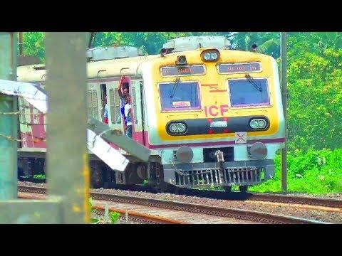 ICF made New EMU local train with AIR COOLER || Katwa - Howrah local ||  EASTERN RAILWAYS
