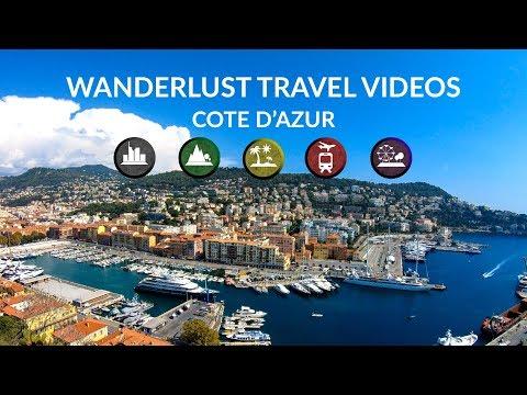 Nice, Monaco, Marseille, Alps Mountains - 🇫🇷 France - 4K Virtual Tour