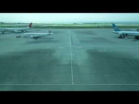 とある時間の那覇空港