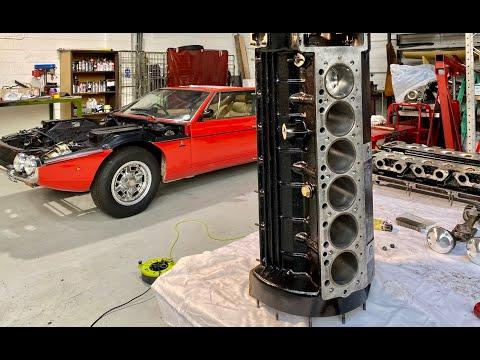 Lamborghini V12 Engine Rebuild Part 5. Putting It All Back Together Again.