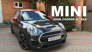 New Mini John Copper Works review and test drive (200 km/h)
