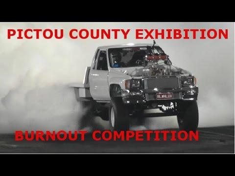 Burnout Comp Pictou Exhibition 2016 Part 1 OF 2