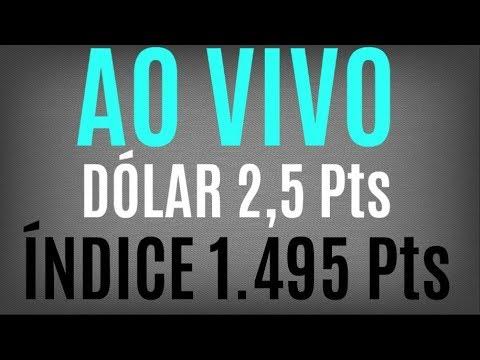 Day Trade ao vivo Mini Índice e Mini Dólar com Jota - 03-04-2018