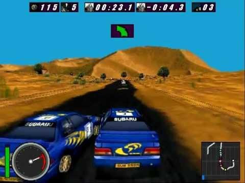 International Rally Championship - Nostalgia Gameplay