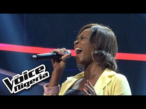 Chiche sings 'Diamonds'  Blind Auditions  The Voice Nigeria 2016