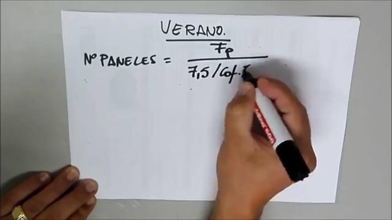 Calculo Instalacion Fotovoltaica Solar Para Principiantes